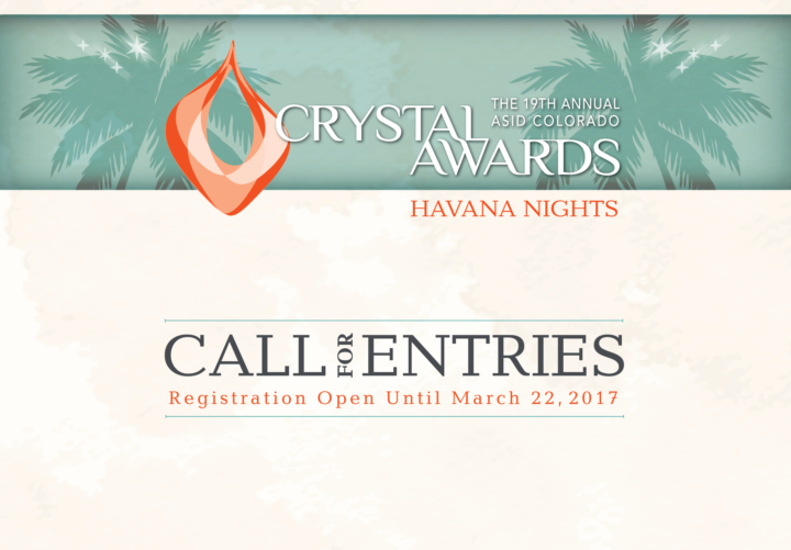 Call for Enteries: 2017 Crystal Awards