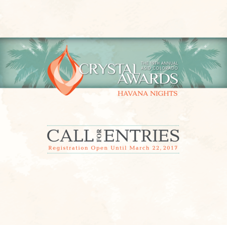 CALL FOR ENTRIES NOW OPEN!
