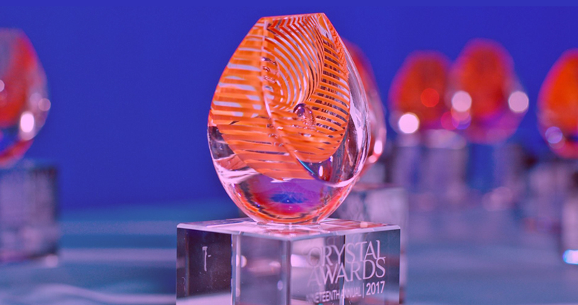 See Photos Of The 2017 Crystal Awards On Our Facebook Page